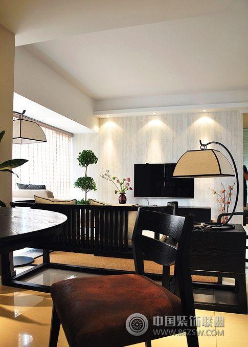 案例:132平新中式装修案例 类型:家装风格:中式风格 空间图片
