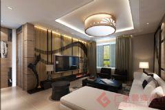 烟台广来装饰温馨家园装修案例现代风格大户型