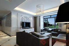 烟台广来装饰立雪佳苑装修案例现代风格三居室