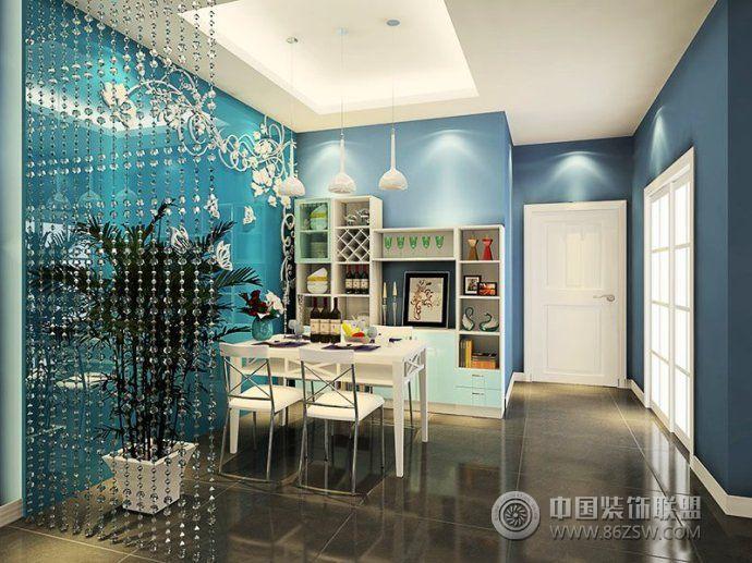 最新时尚餐厅隔断创意设计 客厅装修效果图