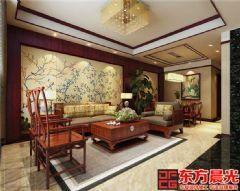 古风别墅装修设计满室花影迷离中式风格别墅