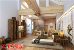 独栋大型别墅装修设计中式风格中式风格别墅