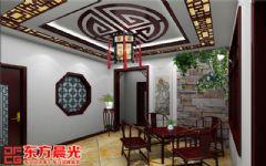 静谧清幽的古典中式茶馆设计装修