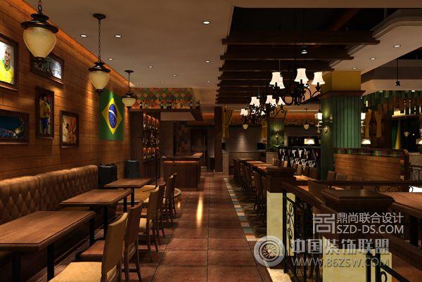 深圳西餐厅设计圣多斯壹海城店 单张展示 餐馆装修效果图 八六 中国