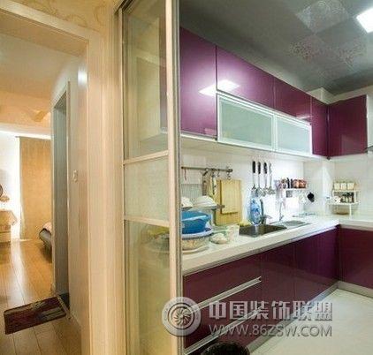 40平小户型装修案例 客厅装修效果图 八六装饰网装修效果