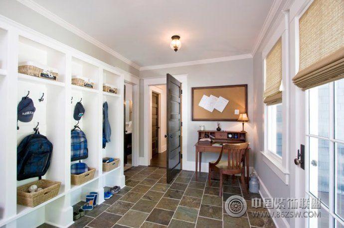2014最新玄关收纳柜设计-玄关装修图片