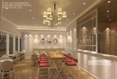 Pearl Waffle连锁甜品店设计苏州圆融星座店餐馆装修图片