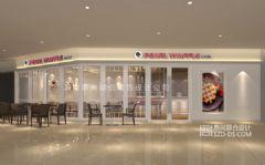 Pearl Waffle连锁甜品店设计苏州圆融星座店