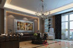 烟台广来装饰金鑫家园装修案例现代风格三居室