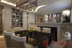 烟台广来装饰东方盛景装修案例现代风格大户型