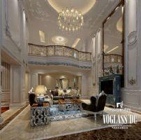 成都尚层装饰别墅装修鹭湖宫法式风格案例推荐欧式风格别墅