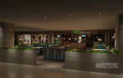 深圳麻辣香锅烤鱼餐厅设计有米海上世界店