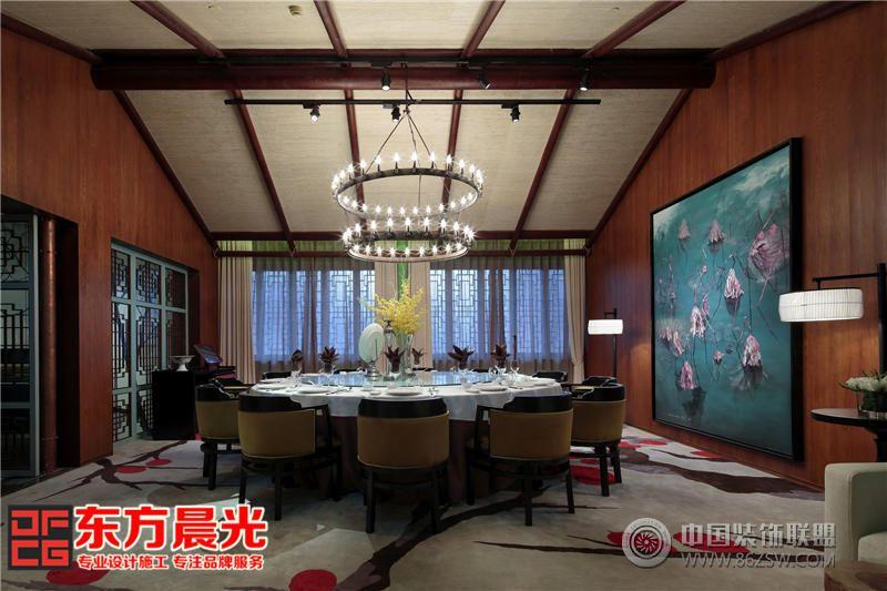 现代私人会所装修设计设有古典欧式风格的雅间