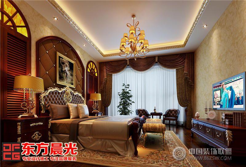 中式四合院装修室内设计 卧室装修效果图 八六 中国 装饰联盟