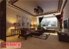 简约中式风格农村别墅装修室内设计中式风格别墅