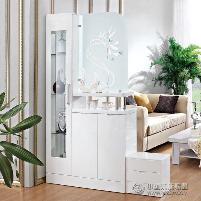 客厅鞋柜隔断创意设计客厅装修图片