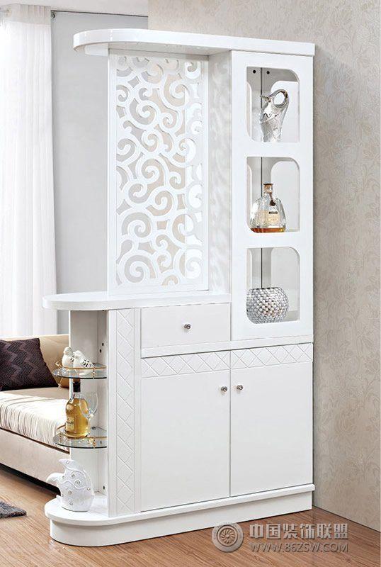 客廳鞋柜隔斷創意設計現代客廳裝修圖片