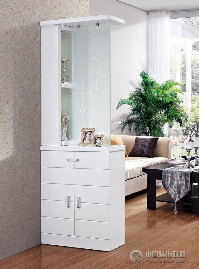 客厅鞋柜隔断创意设计 客厅装修效果图 八六装饰网