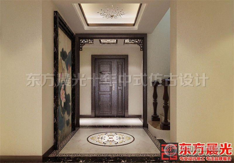 中式风格别墅设计效果图 单张展示 酒店装修效果图 八六 中