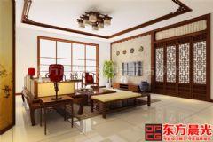 简约中式别墅装修设计素淡雅静
