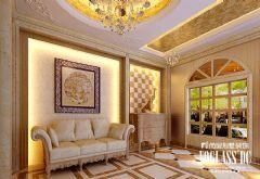 武汉尚层装饰-F天下简约欧式风格方案展示欧式风格别墅