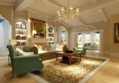 最新客厅兼书房创意设计