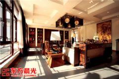 310平中式别墅装修设计实景图