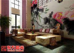 中式别墅装修设计墨香浓中式风格别墅
