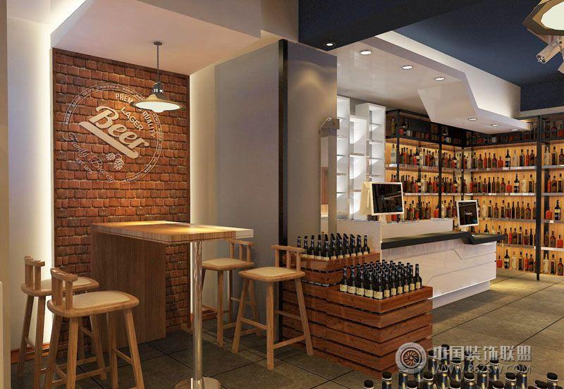 设计理念: 小酒窝酒类连锁超市,室内产品展示运用超市货架形式,这样做的优点是陈列面广货架搭配灵活。室内区域划分5大区域,红酒区、白酒区、小酒区、收款区,除了满足各项功能的同时还人性化的设计了洽谈品酒体验区,这个区域不仅可以洽谈业务,也作为整个空间的亮点。室内整体以现代风格体现色调简洁明快,高雅时尚。