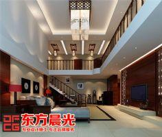 中式独栋别墅装修设计突显气派中式风格别墅