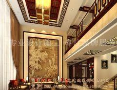 装饰气氛中式别墅装修案例