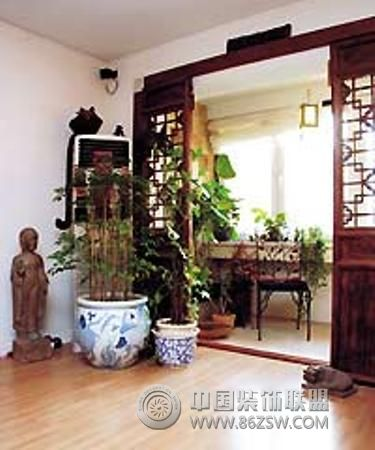 客厅阳台效果图-阳台装修效果图-八六(中国)装饰联盟