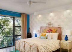卧室色彩艺术阳台效果图