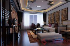 烟台广来装饰中铁逸都装修案例现代风格三居室