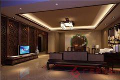 烟台广来装饰万科城装修案例现代风格三居室