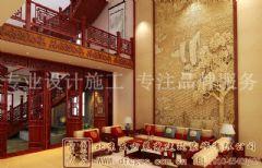 优美温馨的中式别墅装修案例
