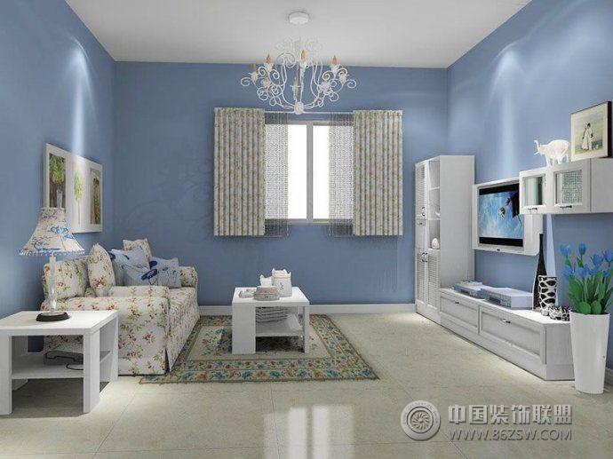 韩式客厅装修效果图 卧室装修效果图 八六装饰网装修效果