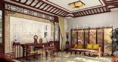 品位古典的中式别墅装修案例