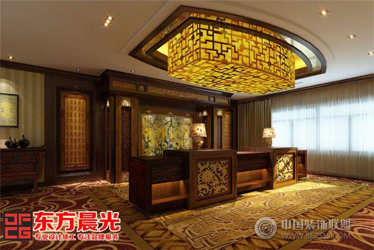 中式酒店会所装修设计-单张展示-会所装修效果图-八