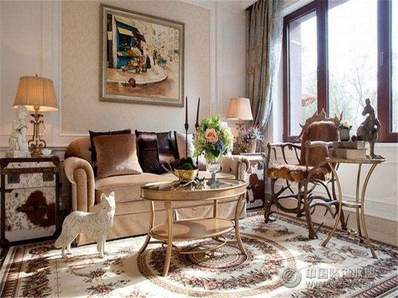 成都尚层装饰别墅装修优雅法式风格案例欣赏图片