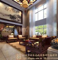 奢华富丽的中式别墅装修案例