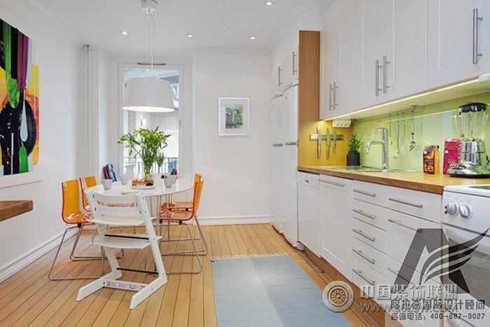 华丽北欧设计立体花园阳台家-厨房装修效果图-八六()