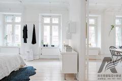 华丽北欧设计立体花园阳台家欧式风格三居室