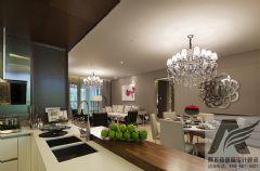 宽敞的后现代家庭装修现代风格三居室