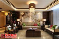 古典中式别墅装修设计色泽亮丽中式风格别墅
