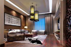 金海名园装修案例——烟台广来装饰现代风格小户型