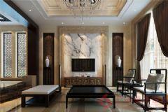 正元怡居装修案例——烟台广来装饰现代风格大户型