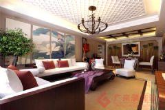 中铁逸都装修案例——烟台广来装饰现代风格三居室