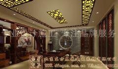 华贵古朴的中式别墅装修案例