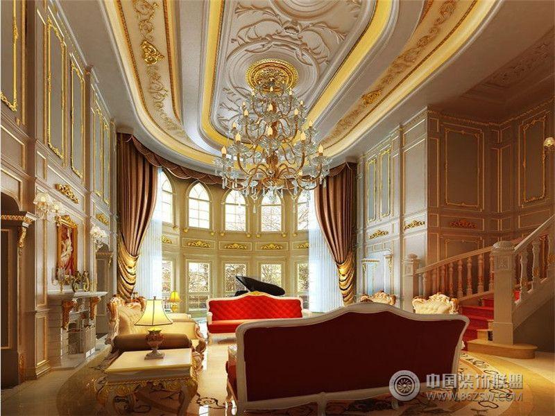 成都尚层 装饰 别墅 装修奢华宫廷法式风格 案例推